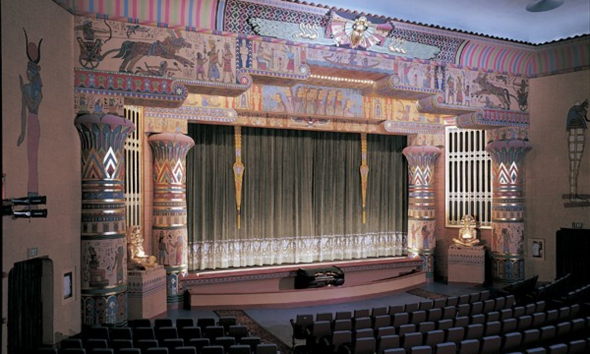 The Campaign to Restore the Egyptian Theatre Organ